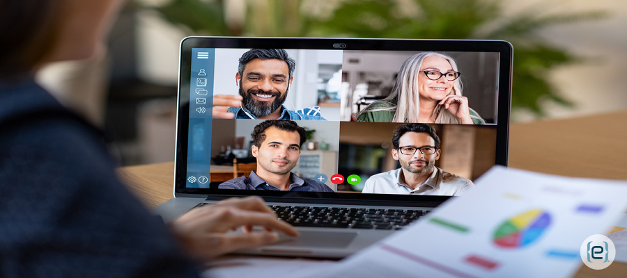 video conferencing and messaging application
