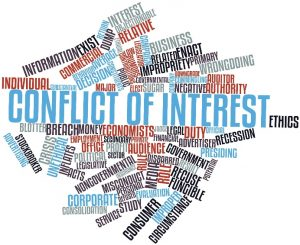 Cloud conflict of interest