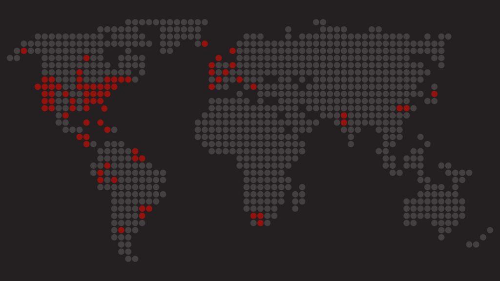 world dot map