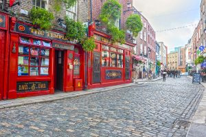 Famous Temple Bar - Ireland
