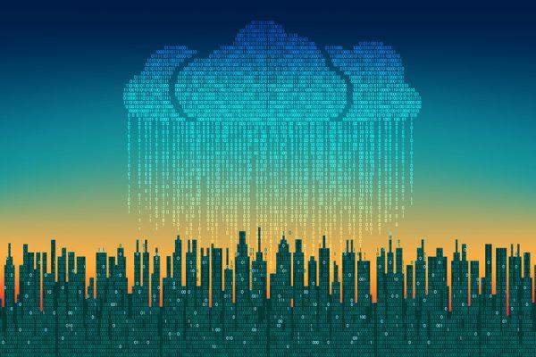 Cloud and rain above NJ