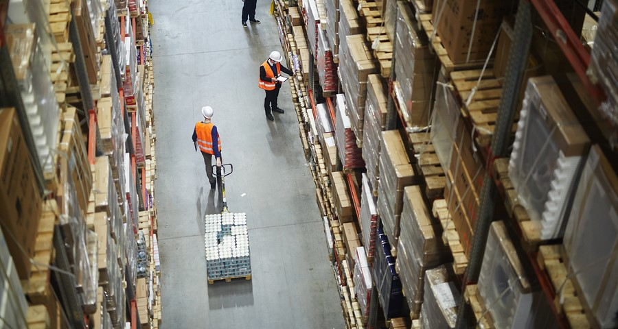 IoT Inventory Management Warehouse
