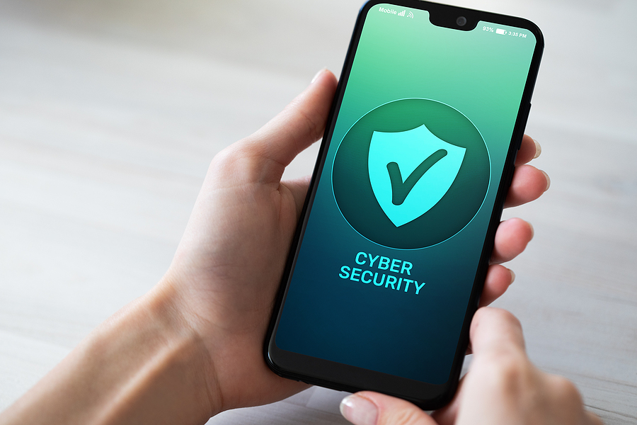 Mobile Phone Cyber Security Information Privacy And Data Protect