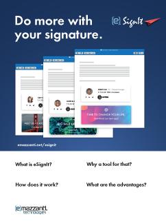 Esignit Datasheet Do More With Your Signature