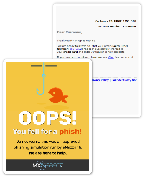 Email Phishing Simulation Training