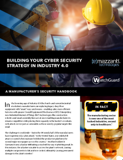 Building Your Cyber Security Strategy In Industry 4.0